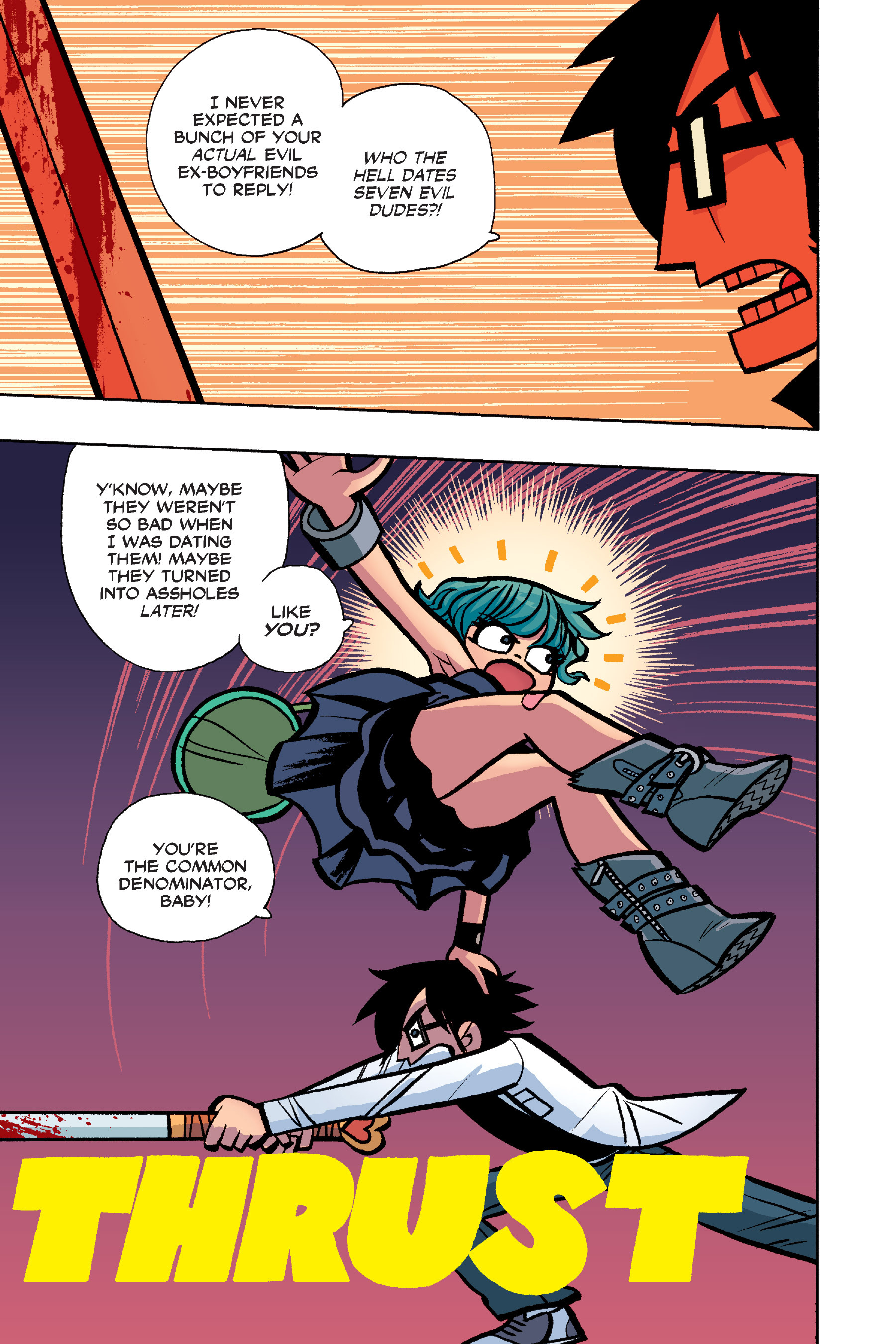 Read online Scott Pilgrim comic -  Issue #6 - 152