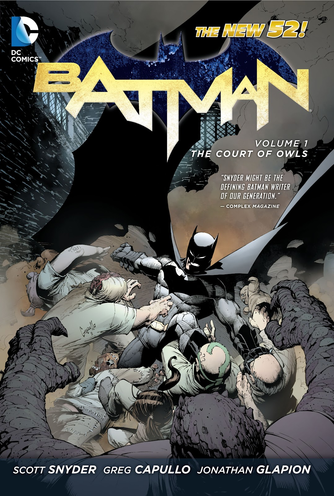 Batman: The Court of Owls issue Full - Page 1