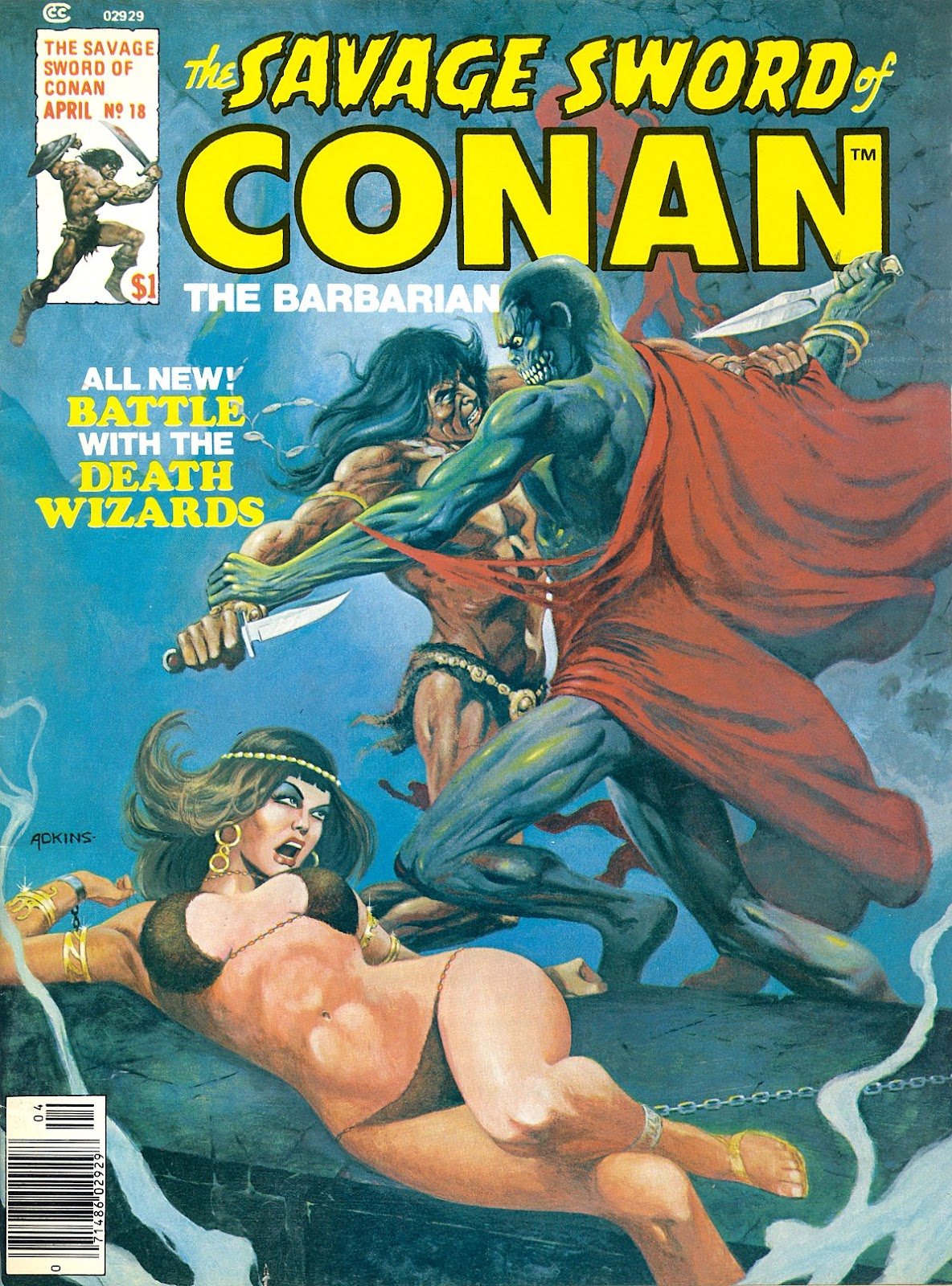 The Savage Sword Of Conan Issue #18 #19 - English 1