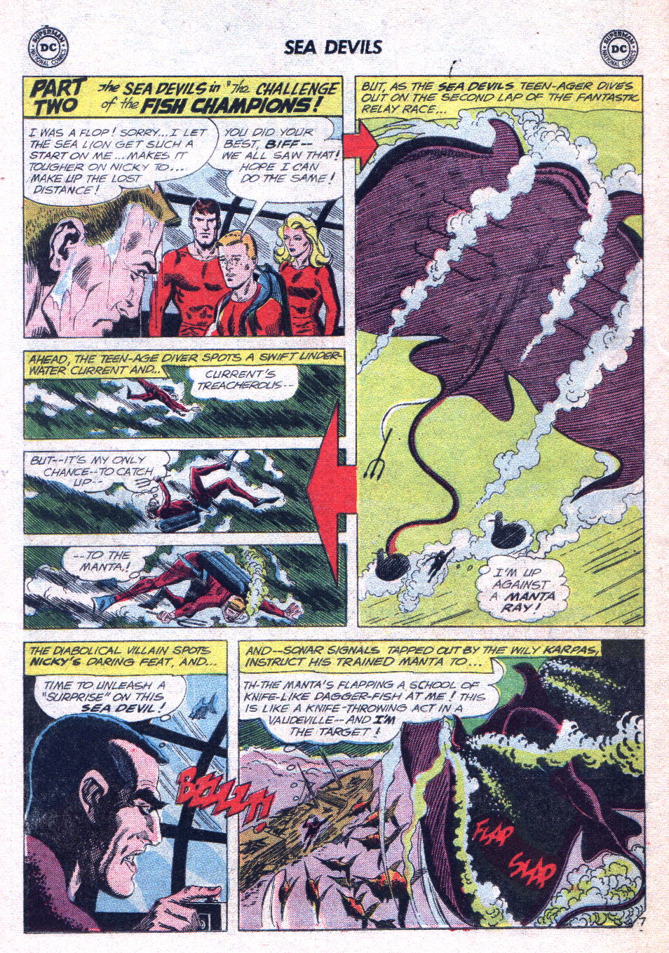Read online Sea Devils comic -  Issue #14 - 26