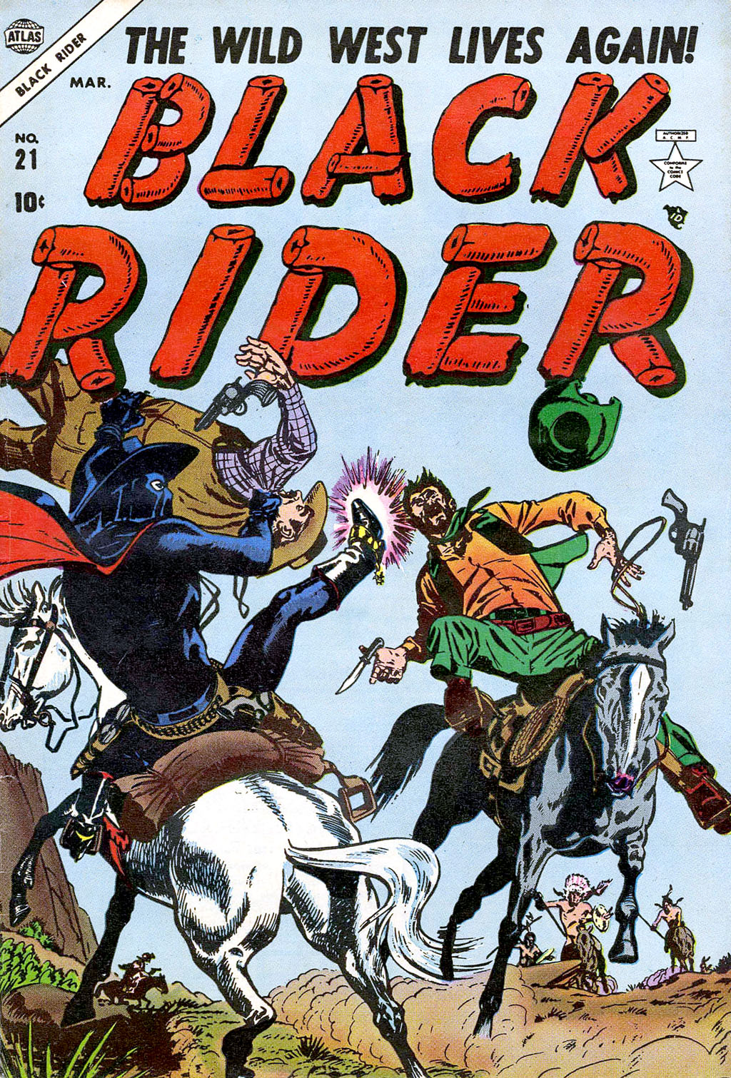 Black Rider 21 Page 1