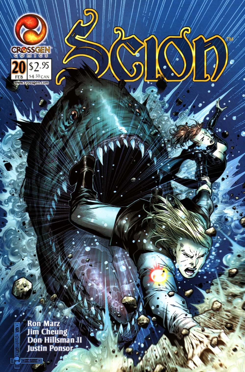 Read online Scion comic -  Issue #20 - 1