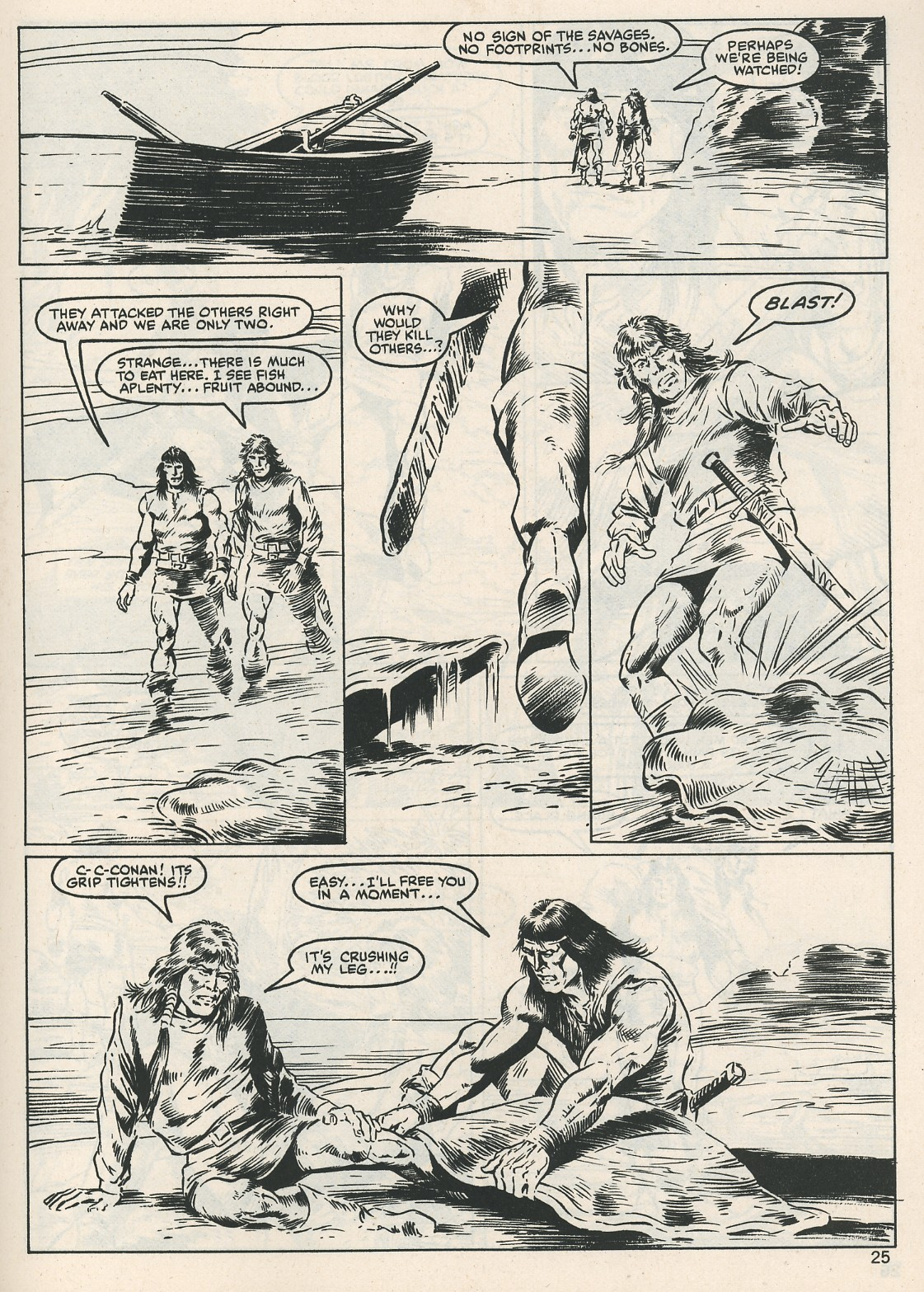 The Savage Sword Of Conan Issue #115 #116 - English 25