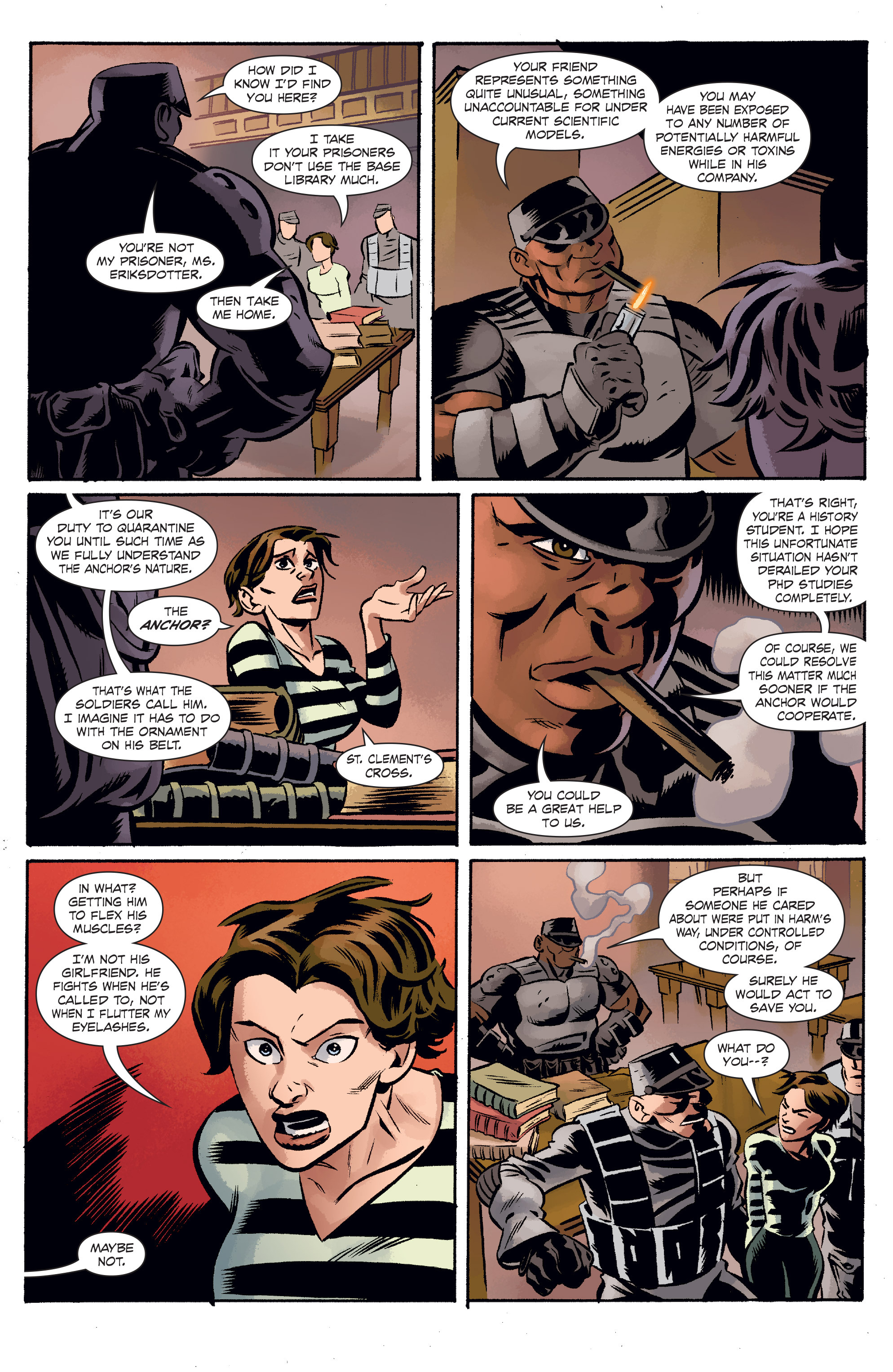 Read online The Anchor comic -  Issue # TPB 1 - 58