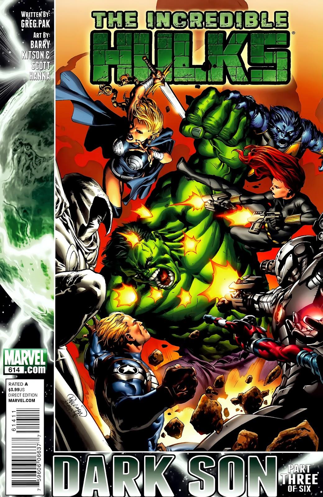Incredible Hulks (2010) Issue #614 #4 - English 1
