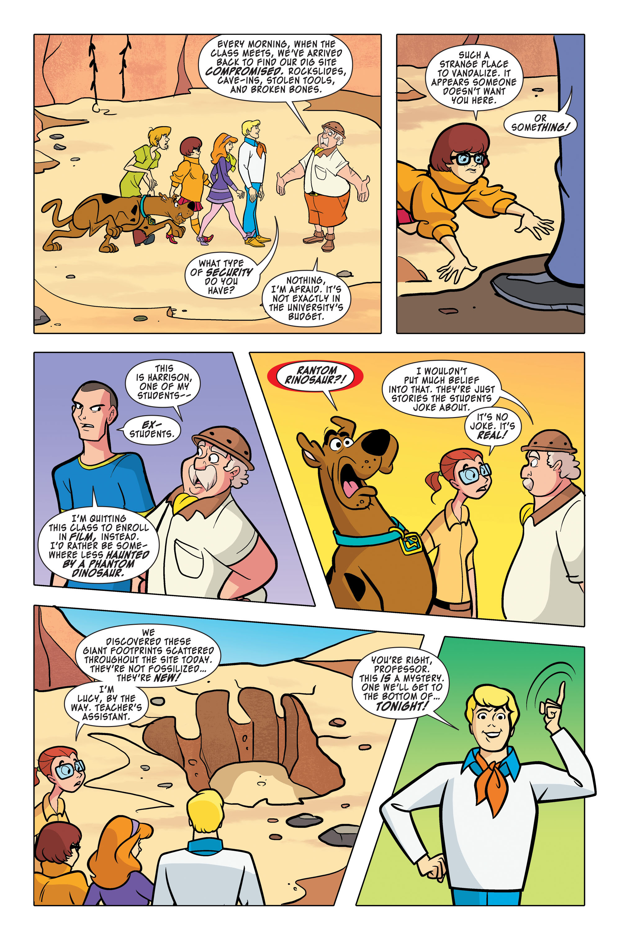 Read online Scooby-Doo: Where Are You? comic -  Issue #63 - 3
