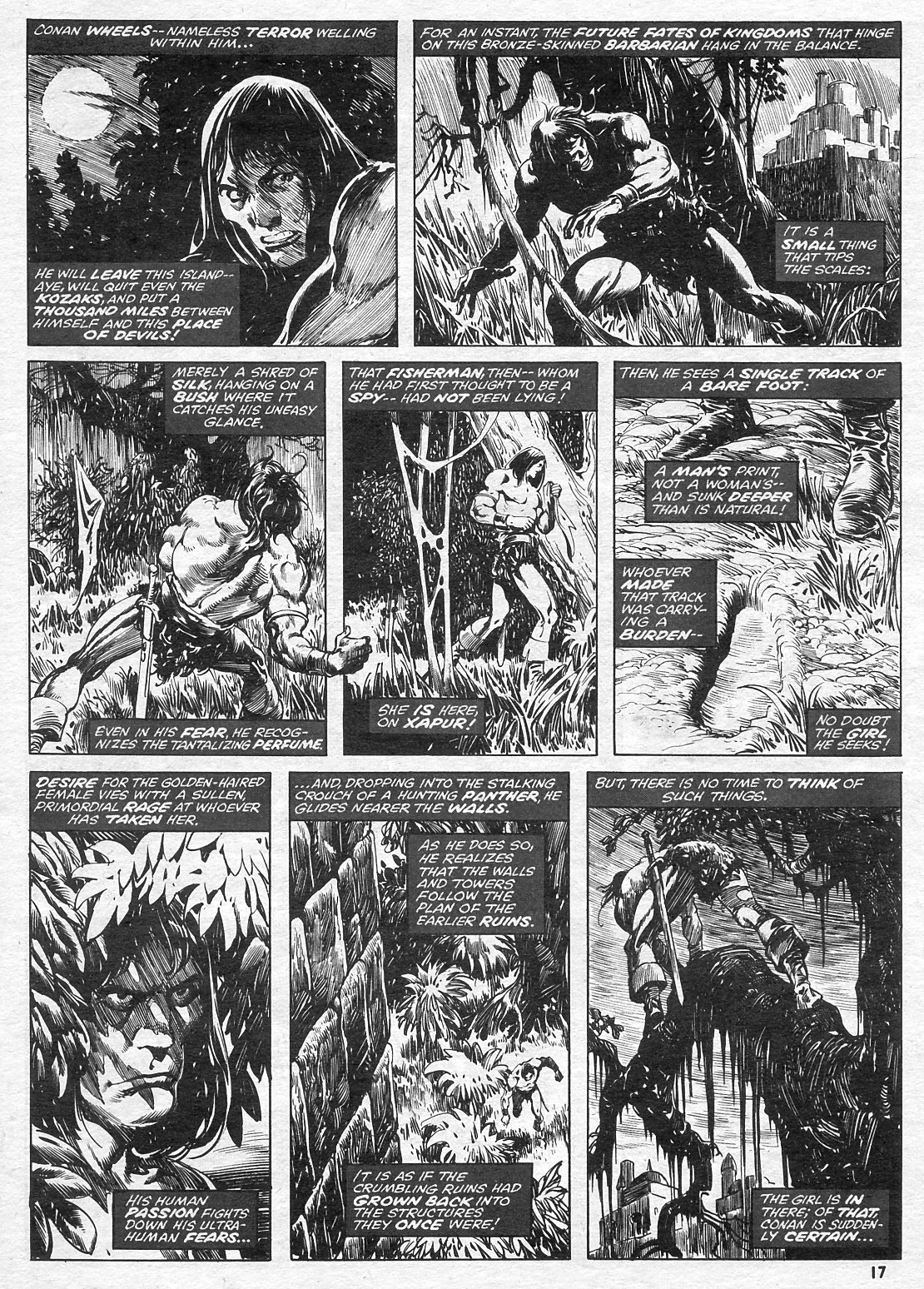 The Savage Sword Of Conan Issue #15 #16 - English 17