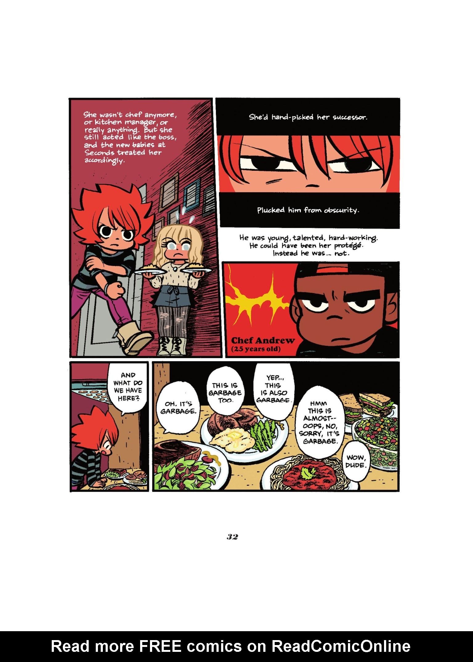 Read online Seconds comic -  Issue # Full - 34