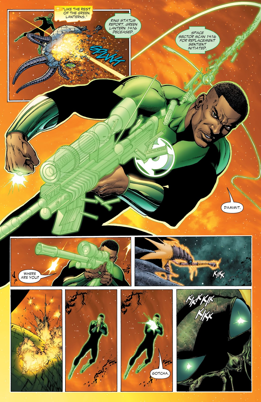 Green Lantern: The Sinestro Corps War Full #1 - English 38