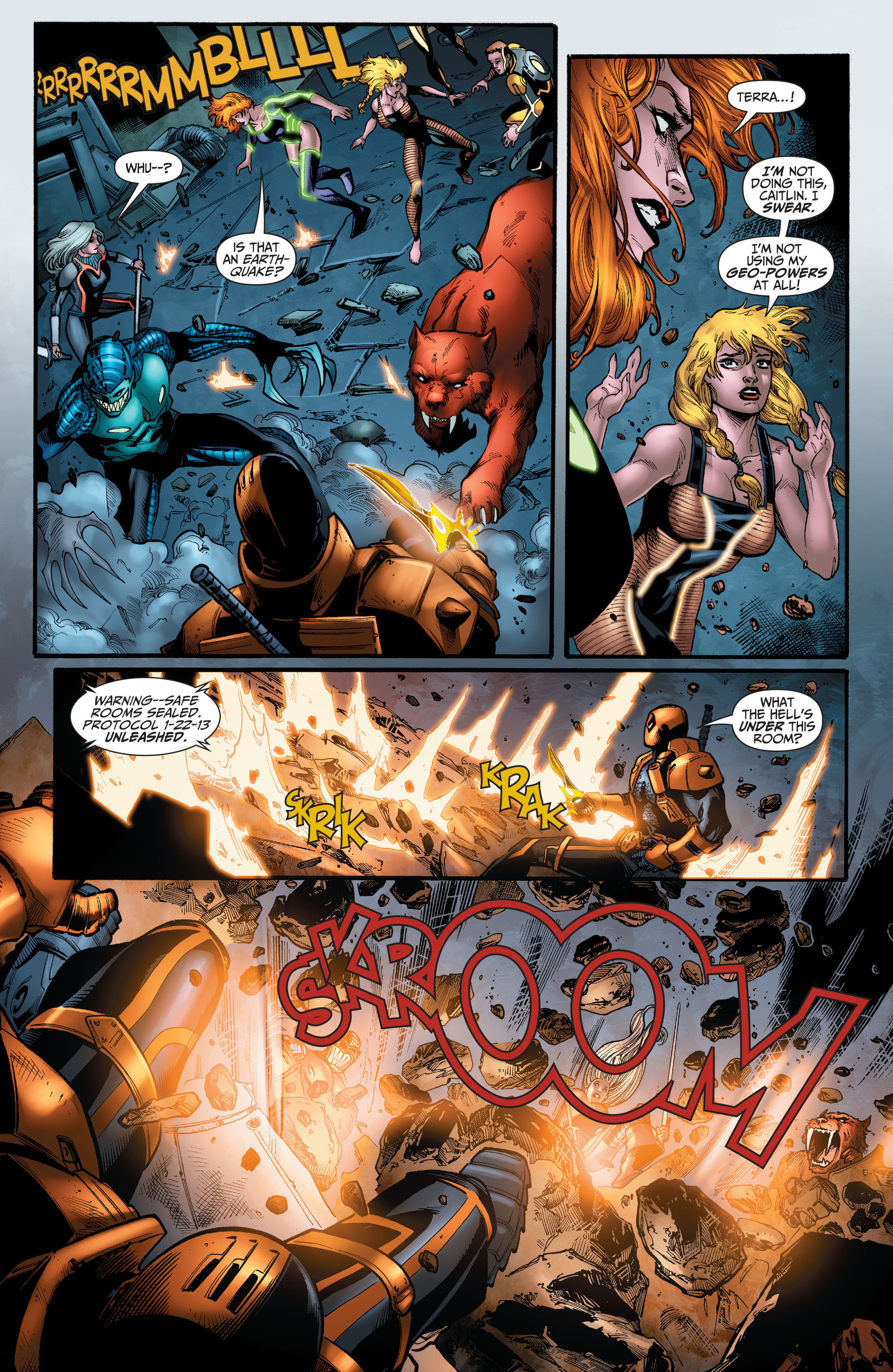 Read online The Ravagers comic -  Issue #11 - 11