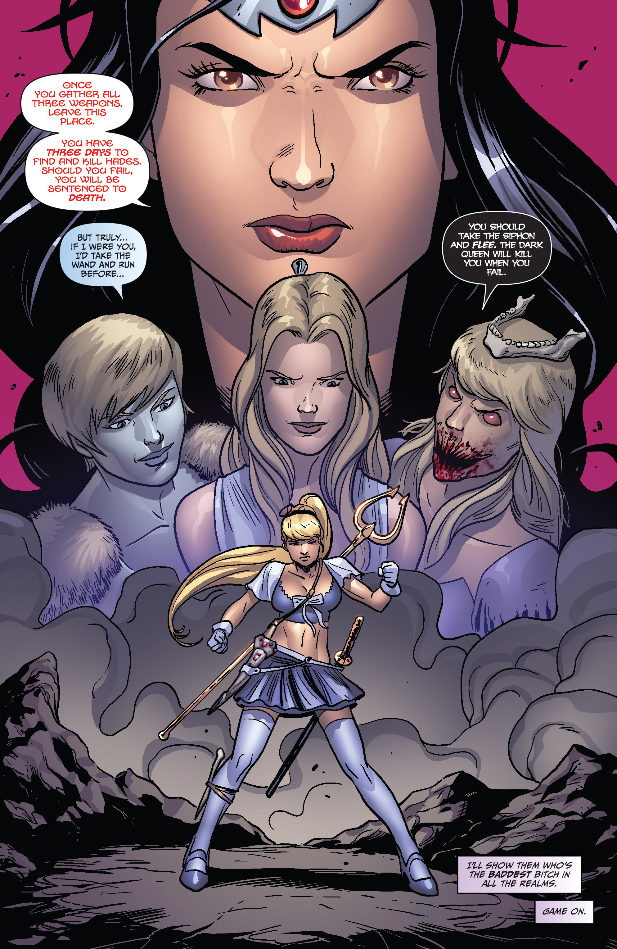 Read online Grimm Fairy Tales presents Cinderella: Age of Darkness comic -  Issue #1 - 19