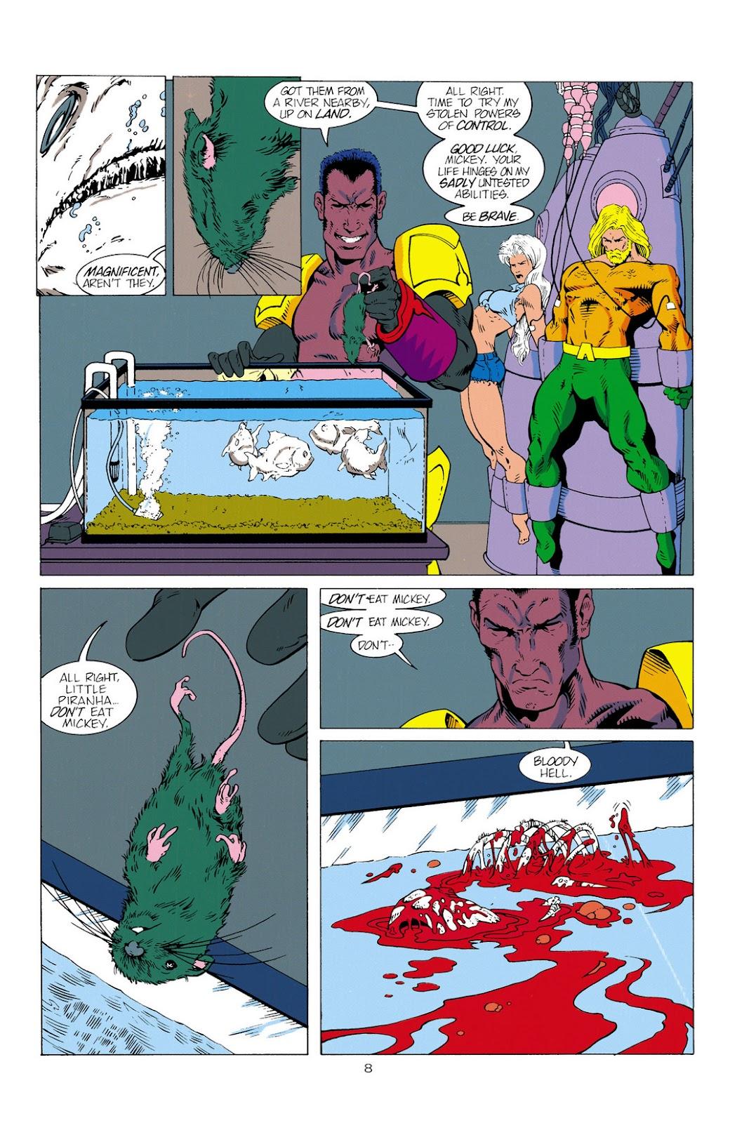 Aquaman (1994) Issue #2 #8 - English 9