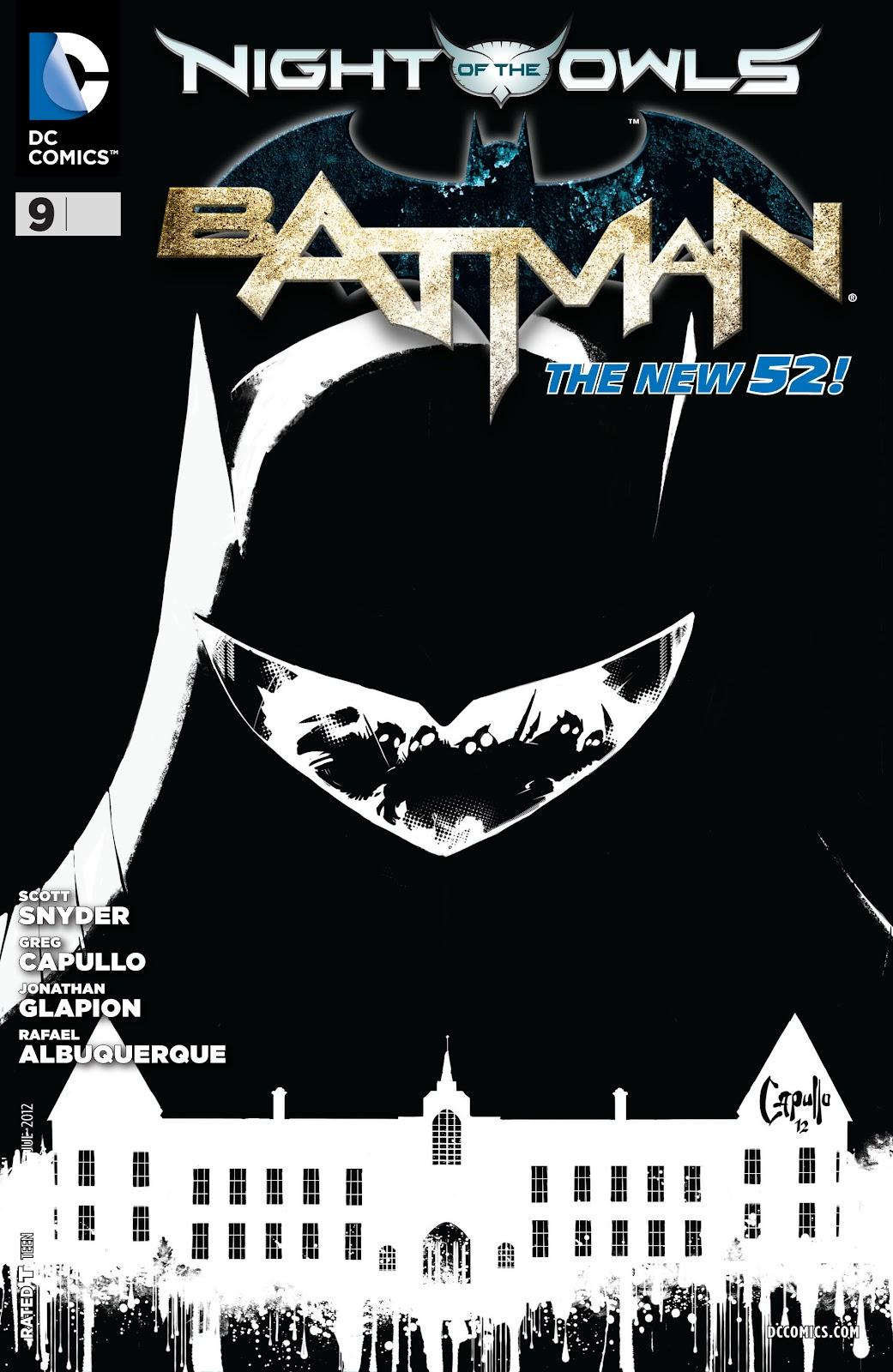 Batman (2011) Issue #9 #24 - English 3