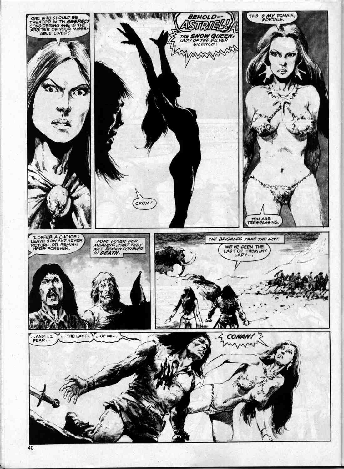 The Savage Sword Of Conan Issue #74 #75 - English 39