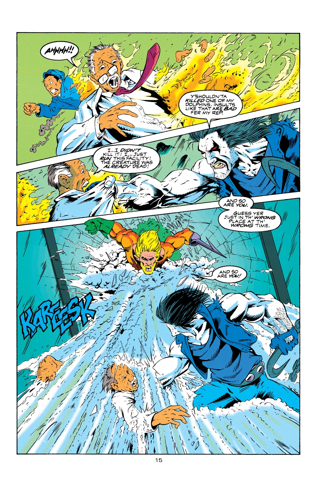 Aquaman (1994) Issue #4 #10 - English 16