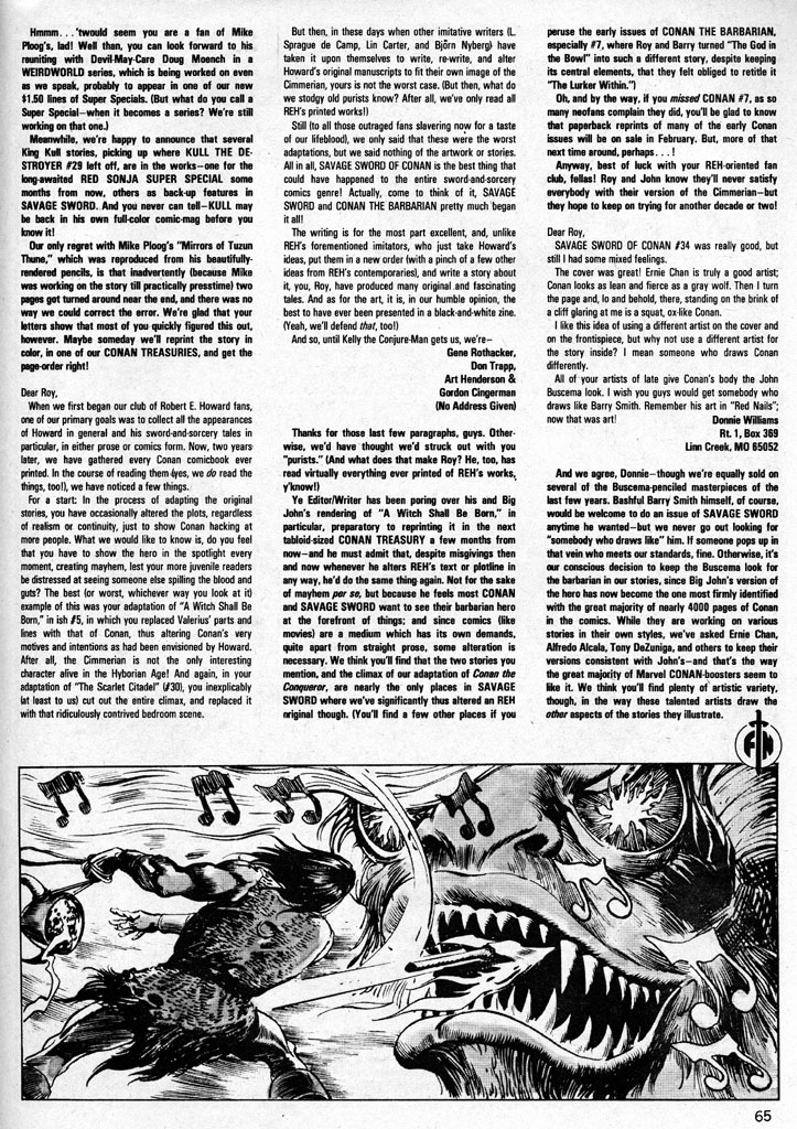 The Savage Sword Of Conan Issue #38 #39 - English 64