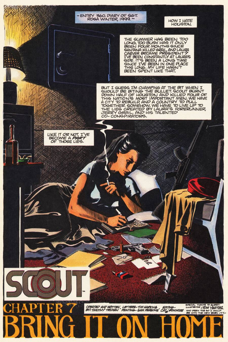 Read online Scout comic -  Issue #7 - 3