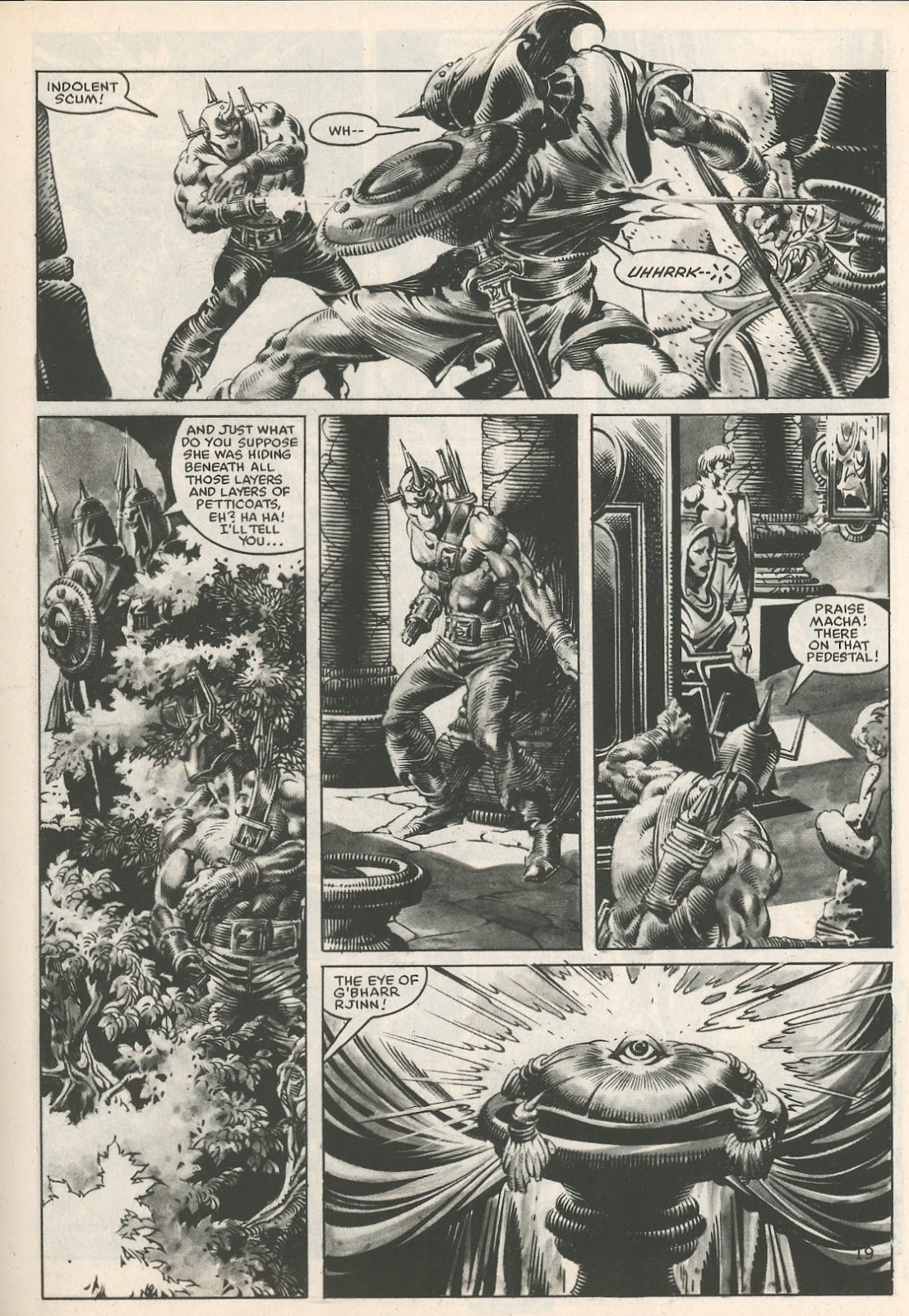 The Savage Sword Of Conan Issue #107 #108 - English 19