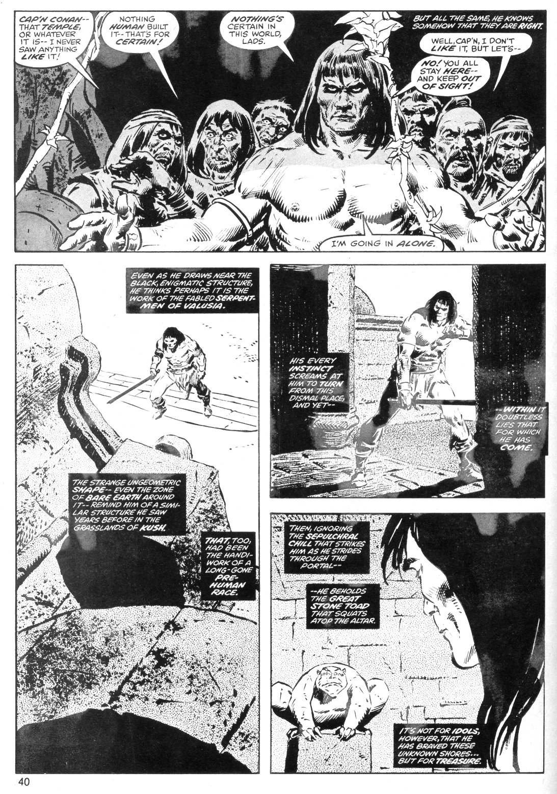 The Savage Sword Of Conan Issue #40 #41 - English 40