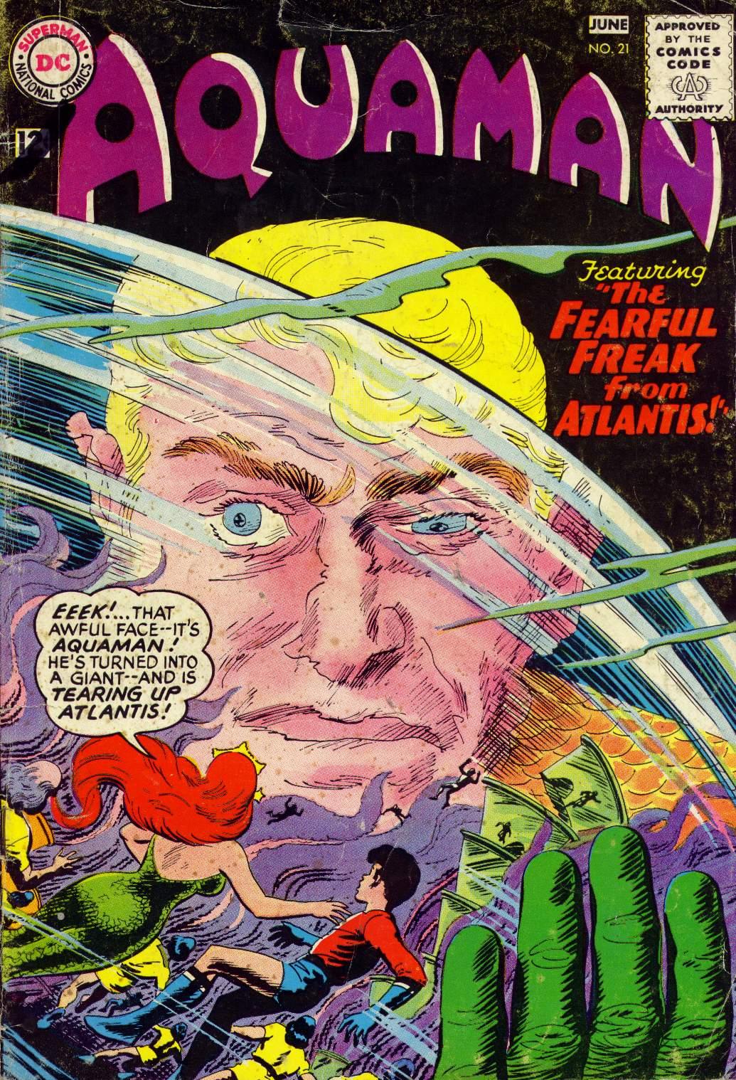 Aquaman (1962) Issue #21 #21 - English 1