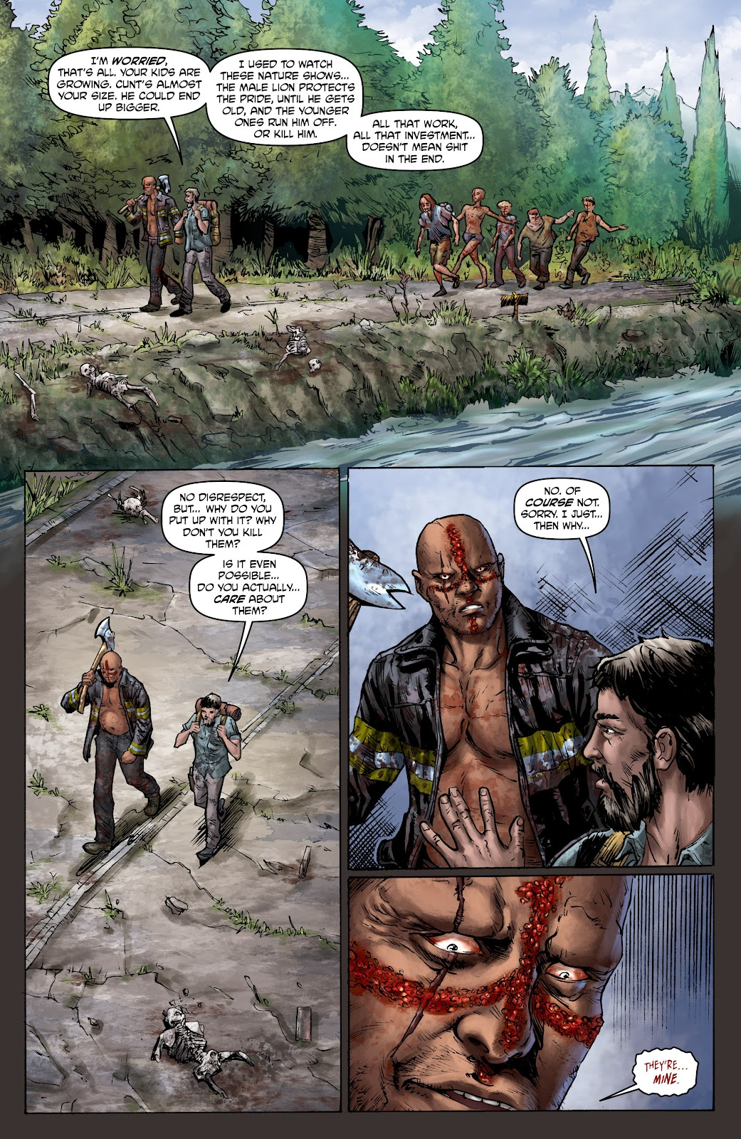 Crossed: Badlands Issue #100 #103 - English 11