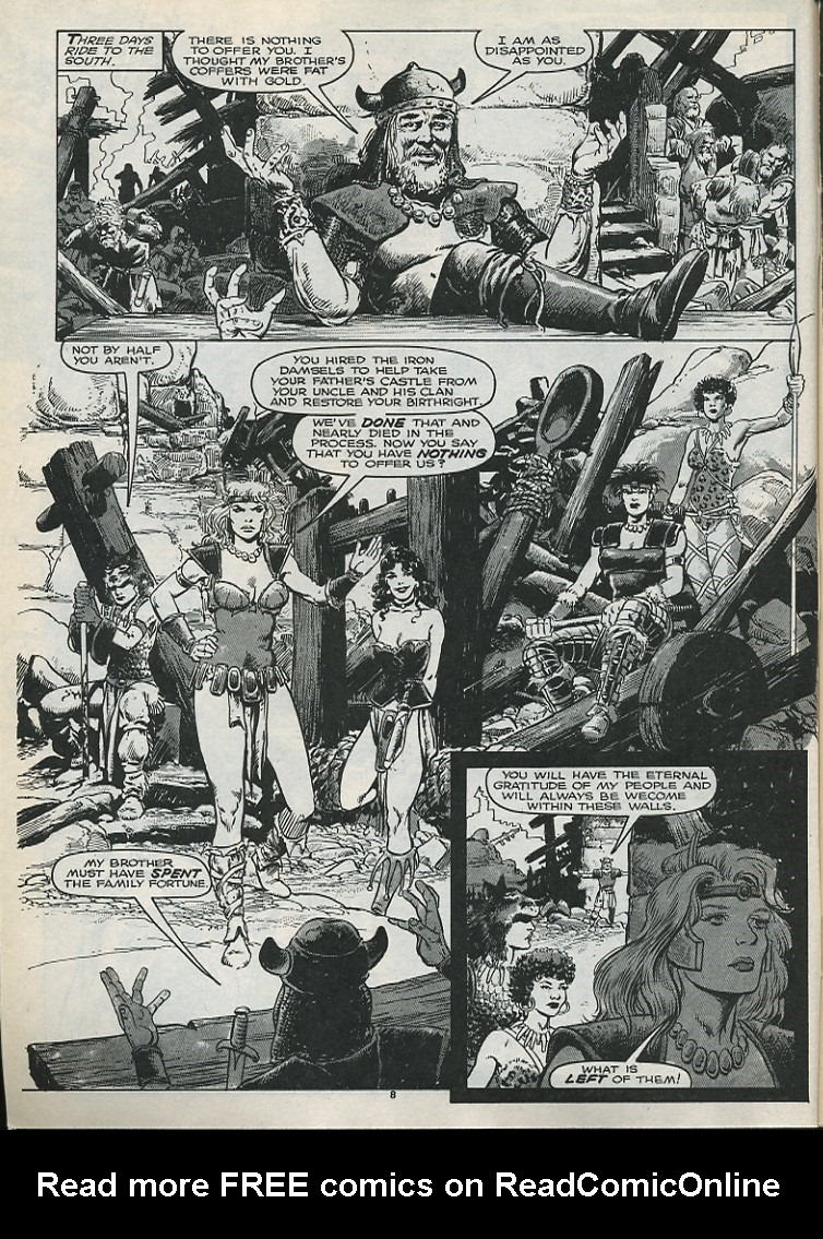 The Savage Sword Of Conan Issue #179 #180 - English 10