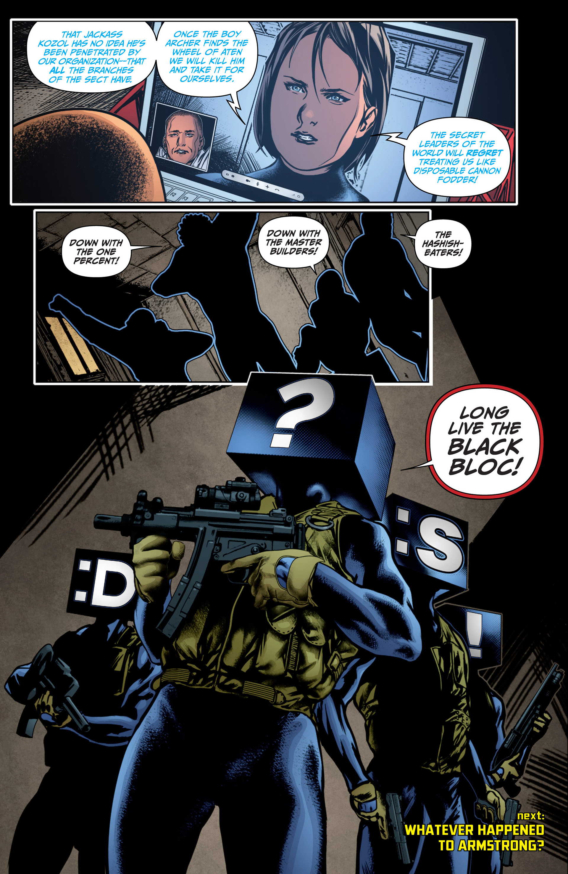 Archer and Armstrong 14 Page 23