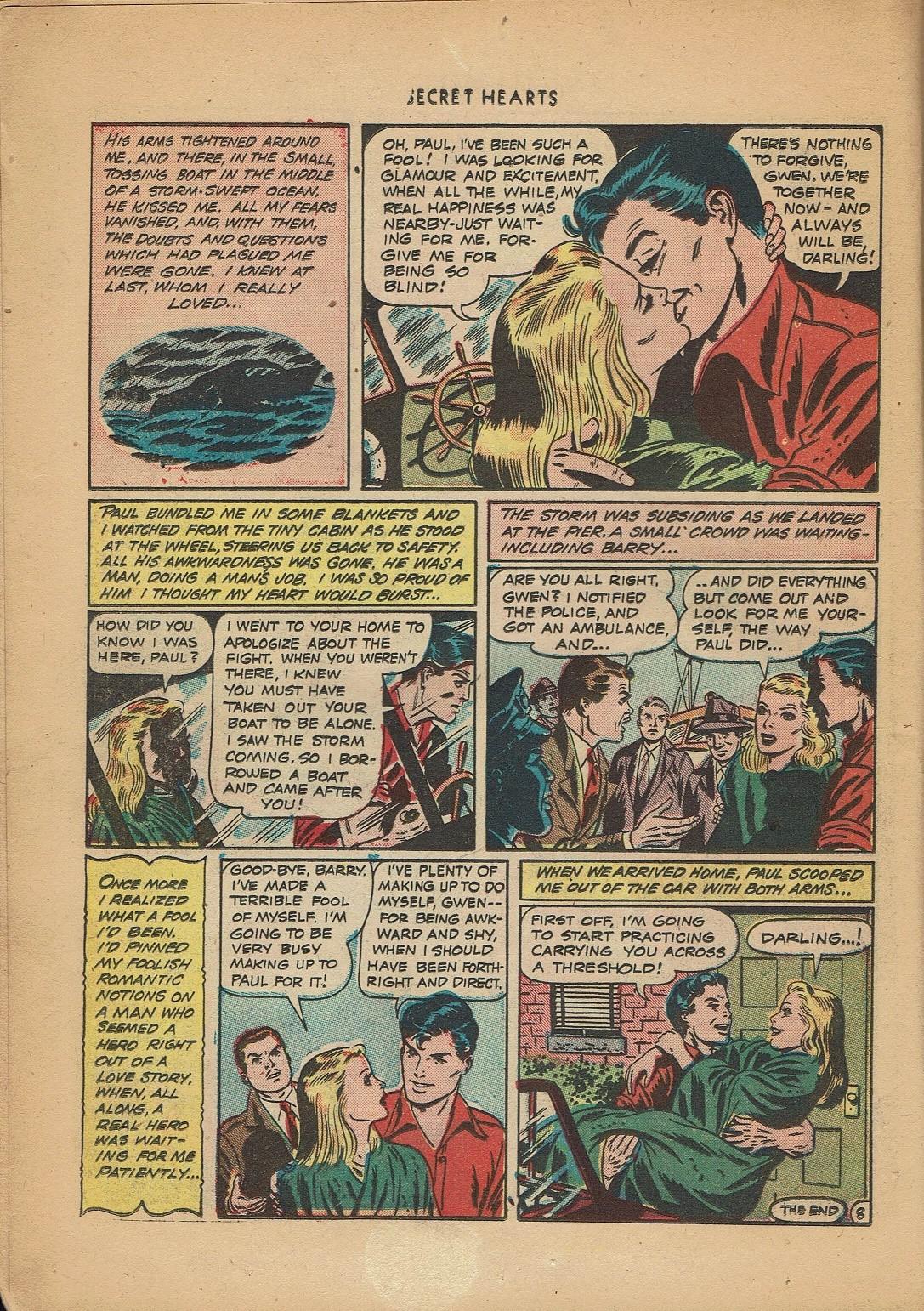 Read online Secret Hearts comic -  Issue #2 - 10