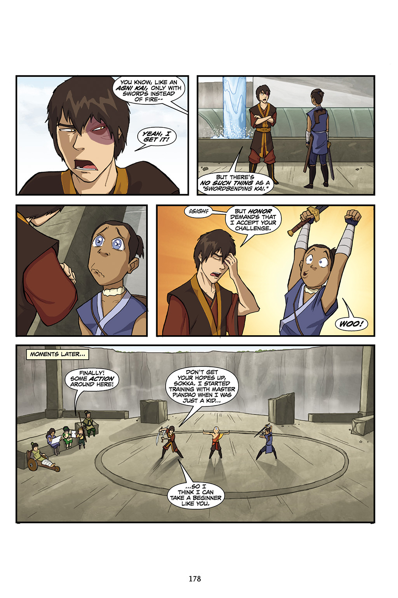 Nickelodeon Avatar: The Last Airbender - The Lost Adventures chap full pic 179