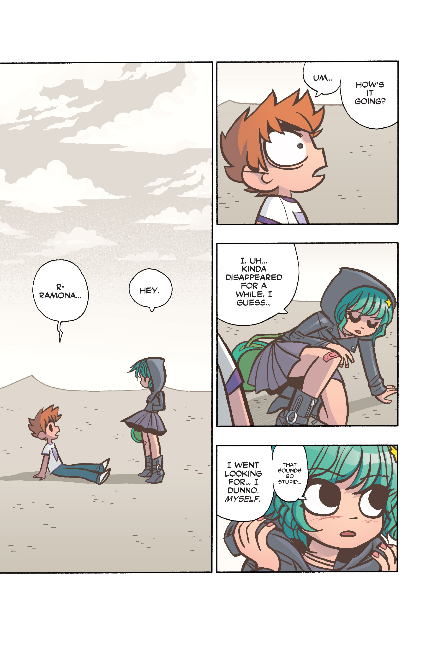 Read online Scott Pilgrim comic -  Issue #6 - 134