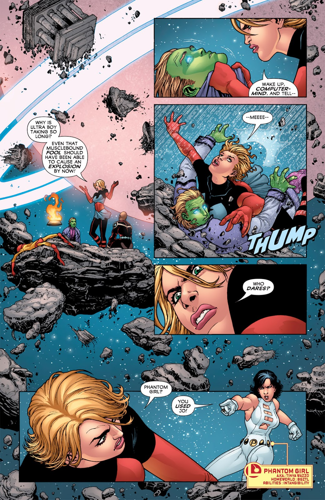 Legion of Super-Heroes (2010) Issue #3 #4 - English 20