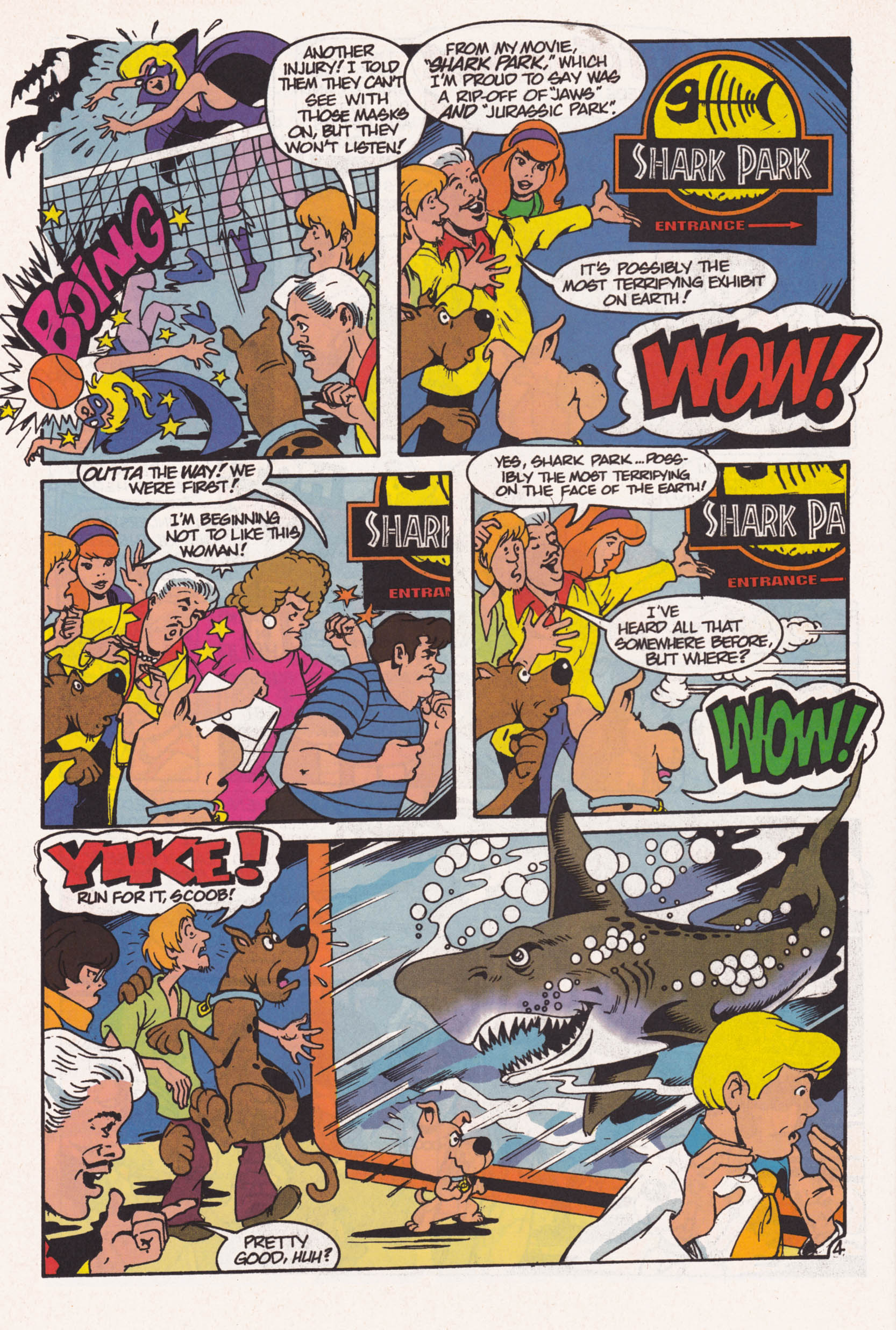 Read online Scooby-Doo (1995) comic -  Issue #1 - 5