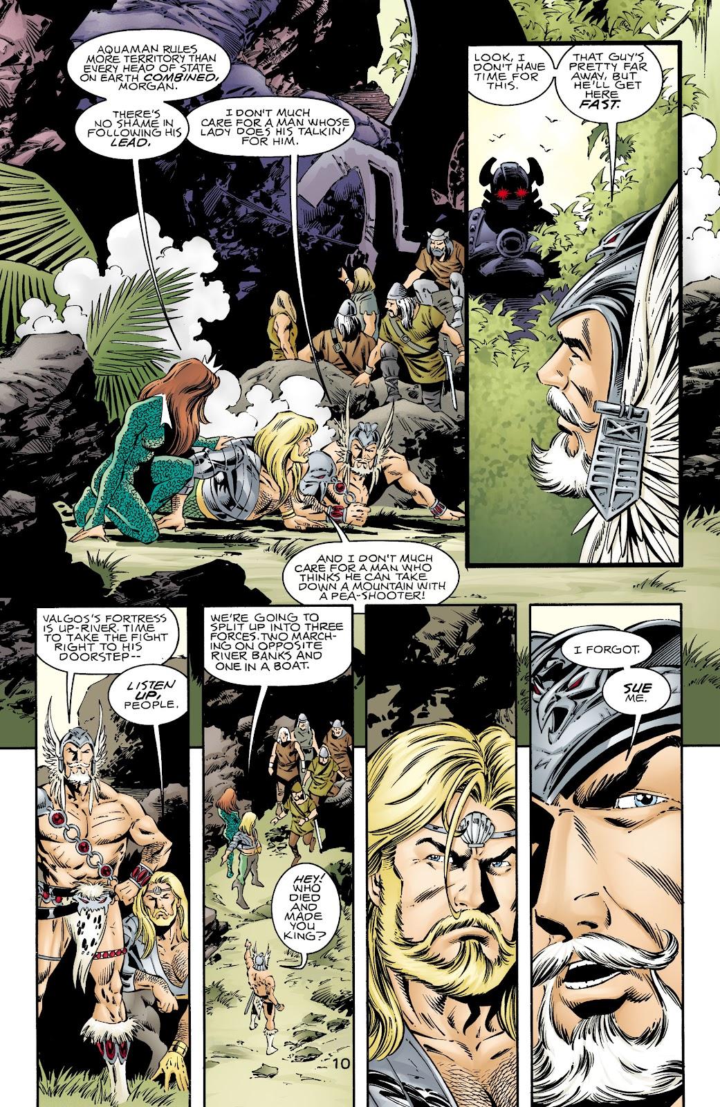 Aquaman (1994) Issue #72 #78 - English 9