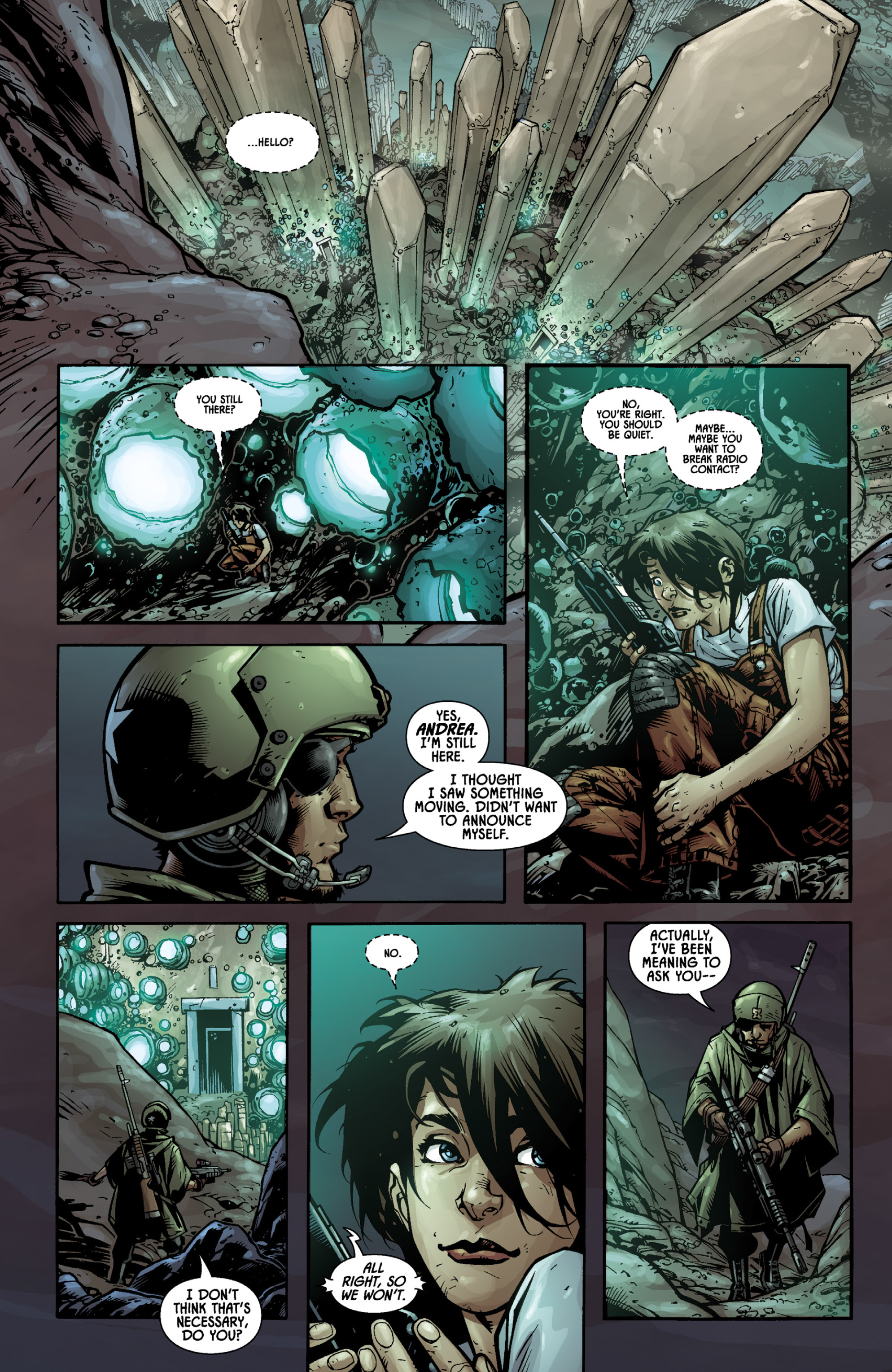 Aliens (2009) TPB Page 14