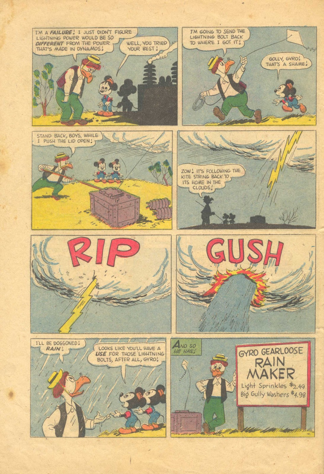 Uncle Scrooge (1953) Issue #13 #13 - English 34