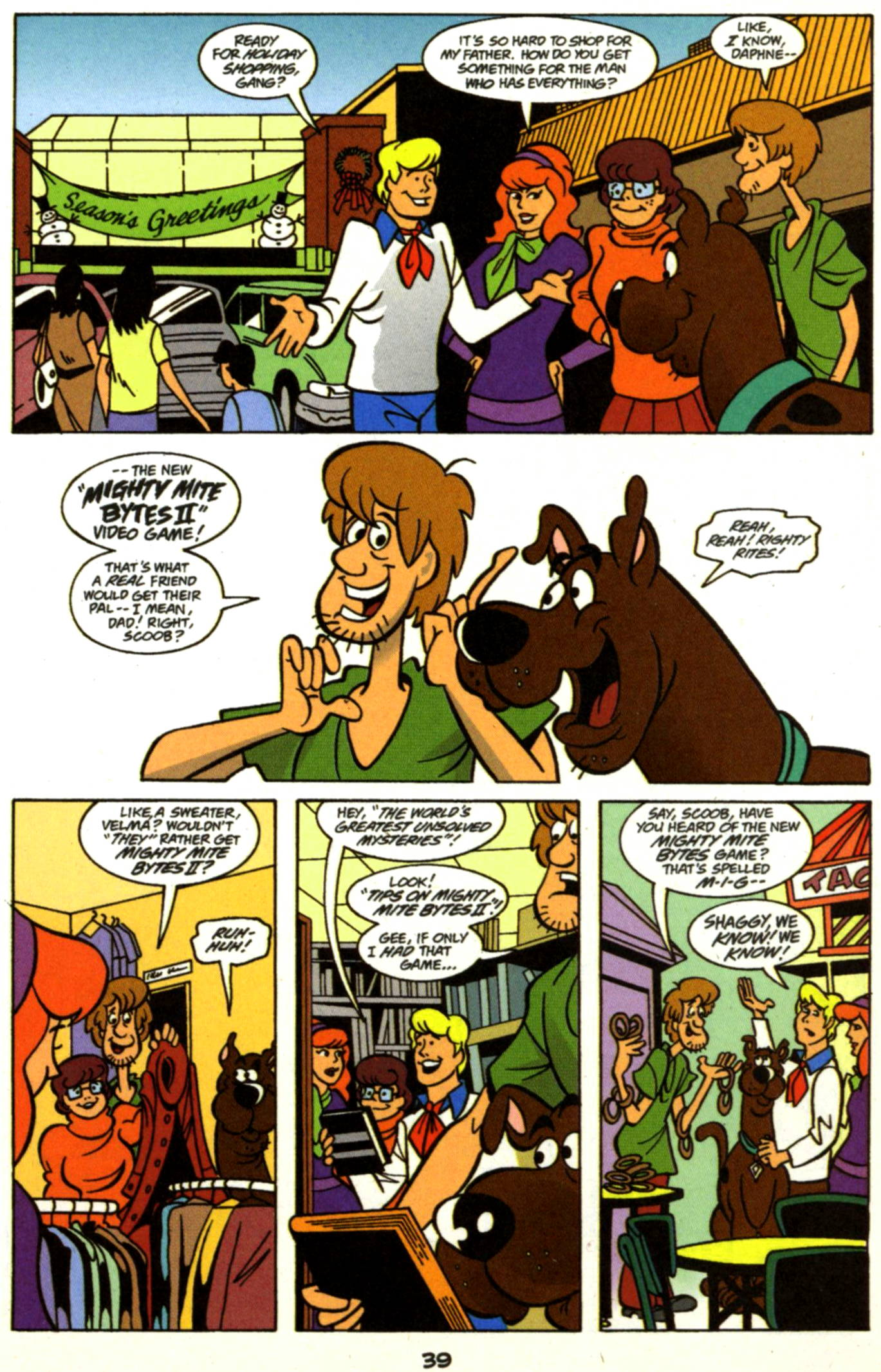 Read online Scooby-Doo (1997) comic -  Issue #17 - 16
