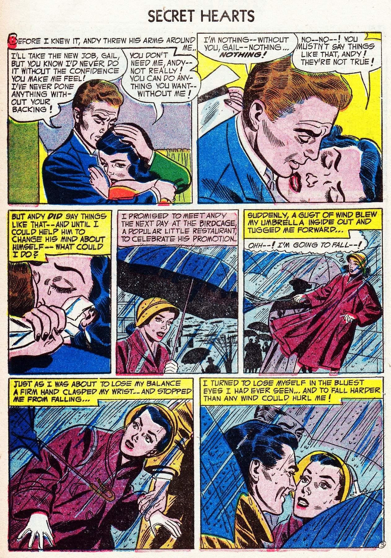 Read online Secret Hearts comic -  Issue #16 - 28