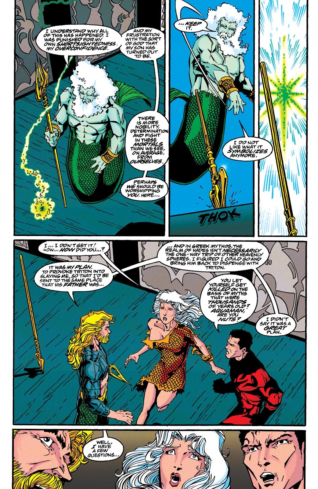 Aquaman (1994) Issue #46 #52 - English 20