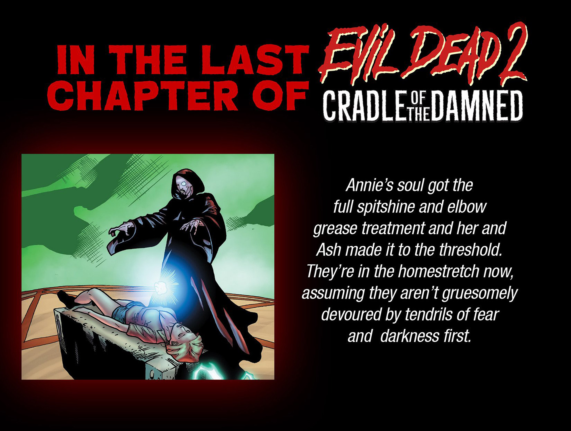 Read online Evil Dead 2: Cradle of the Damned comic -  Issue #6 - 3