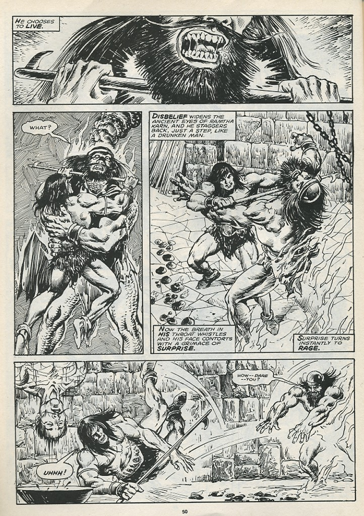 The Savage Sword Of Conan Issue #174 #175 - English 52