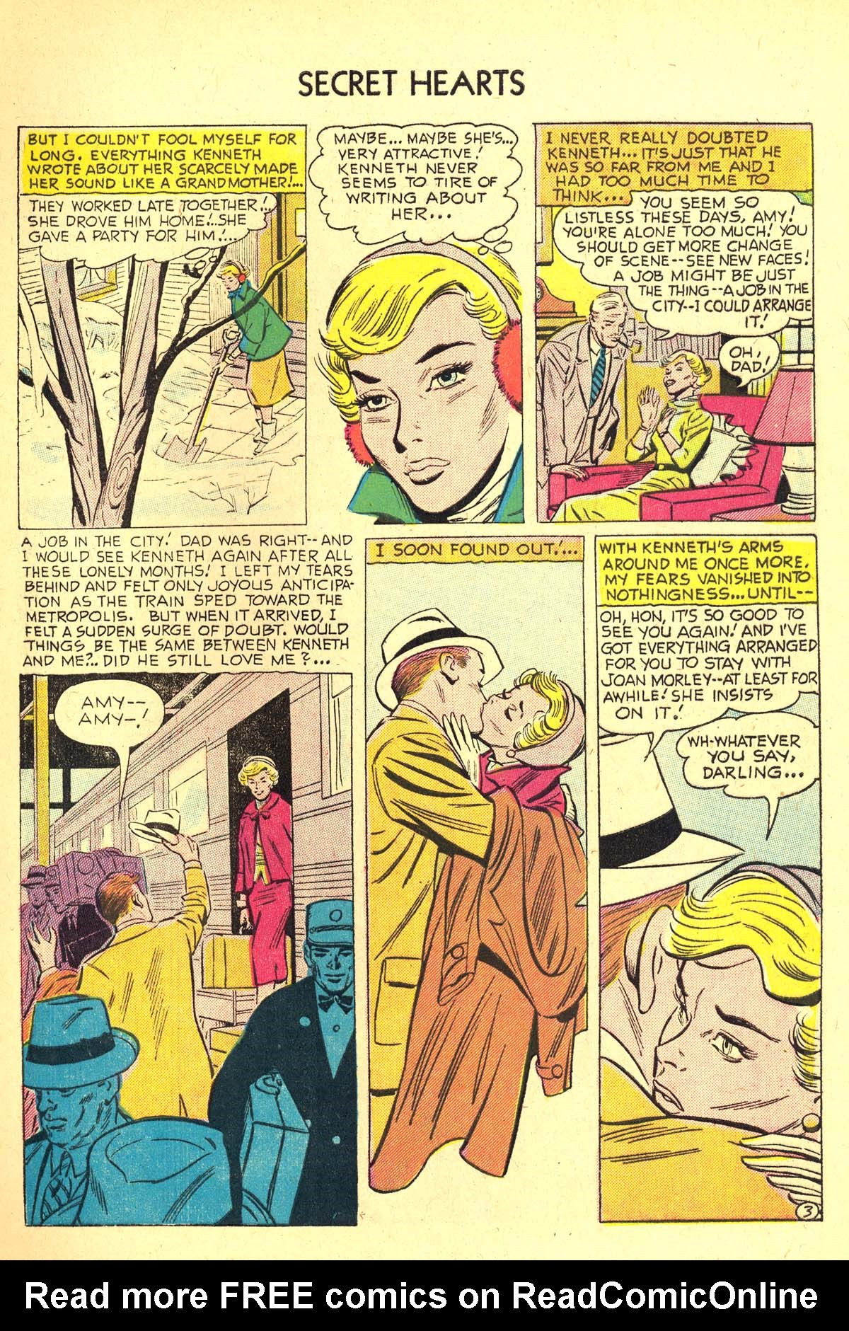 Read online Secret Hearts comic -  Issue #37 - 5