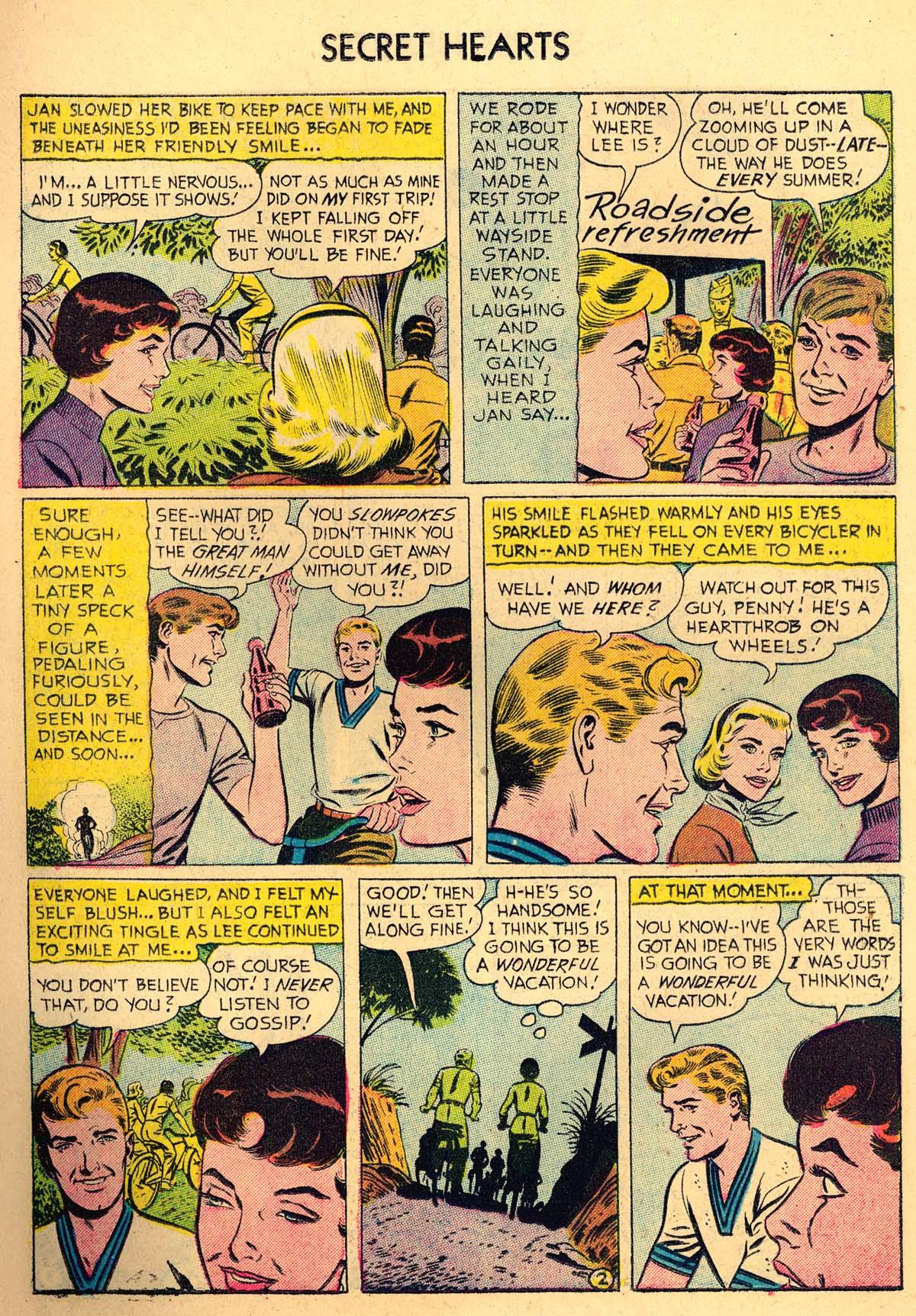 Read online Secret Hearts comic -  Issue #35 - 11