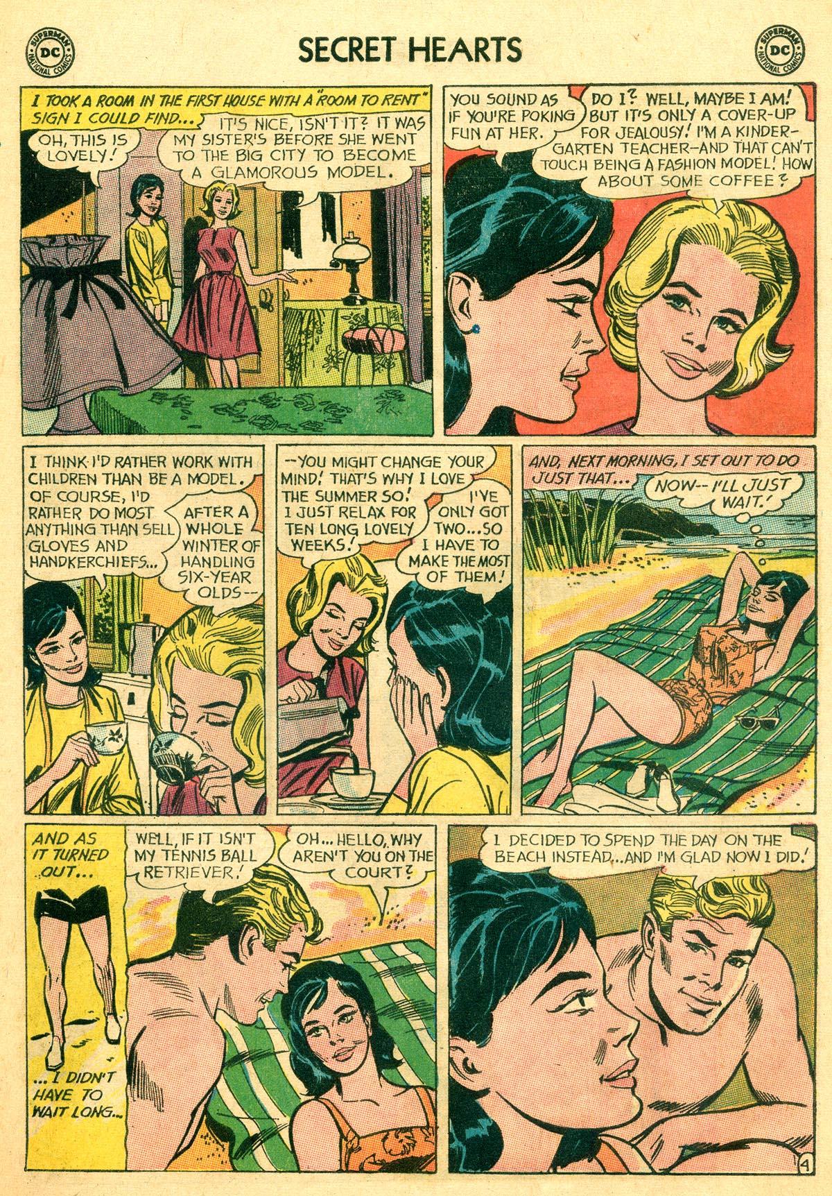 Read online Secret Hearts comic -  Issue #92 - 21