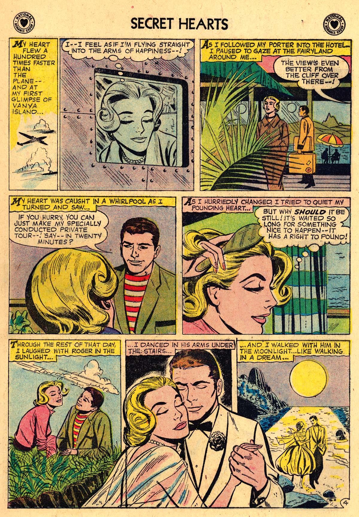 Read online Secret Hearts comic -  Issue #57 - 13