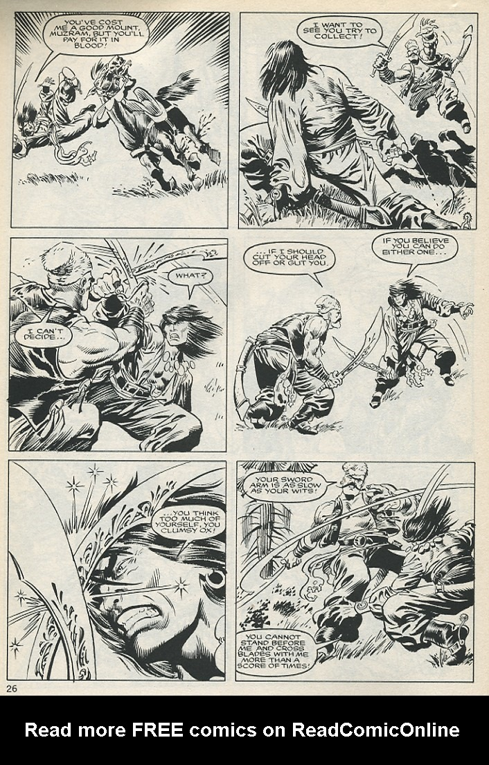 The Savage Sword Of Conan Issue #131 #132 - English 26