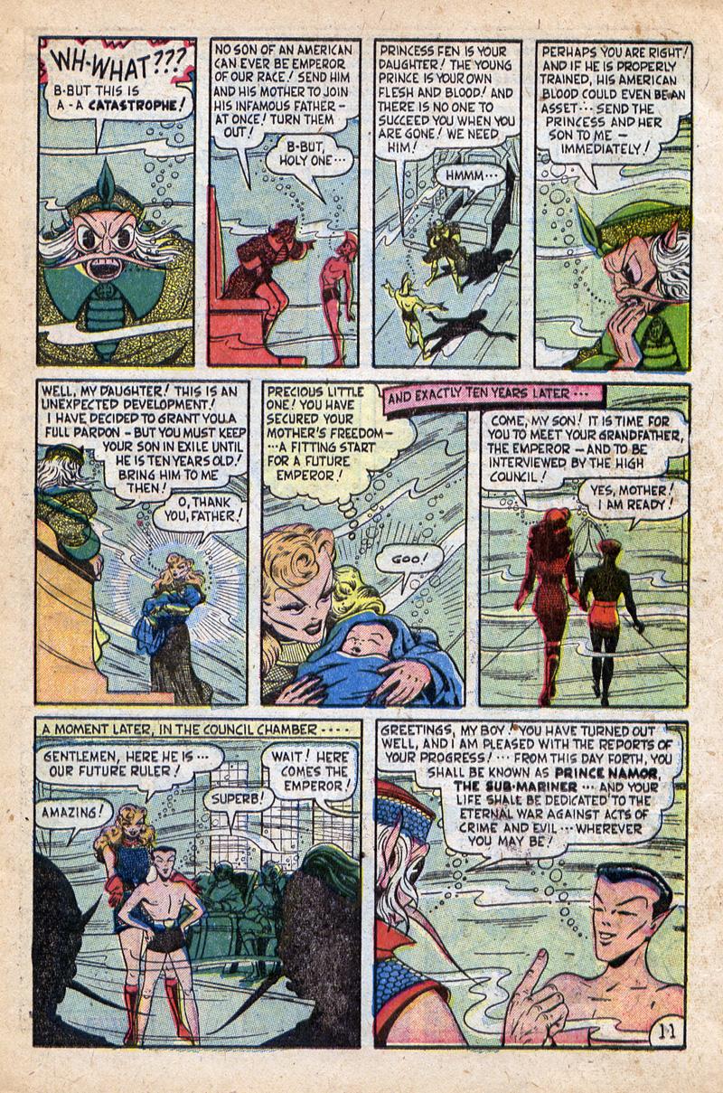 Sub-Mariner Comics #32 #32 - English 13