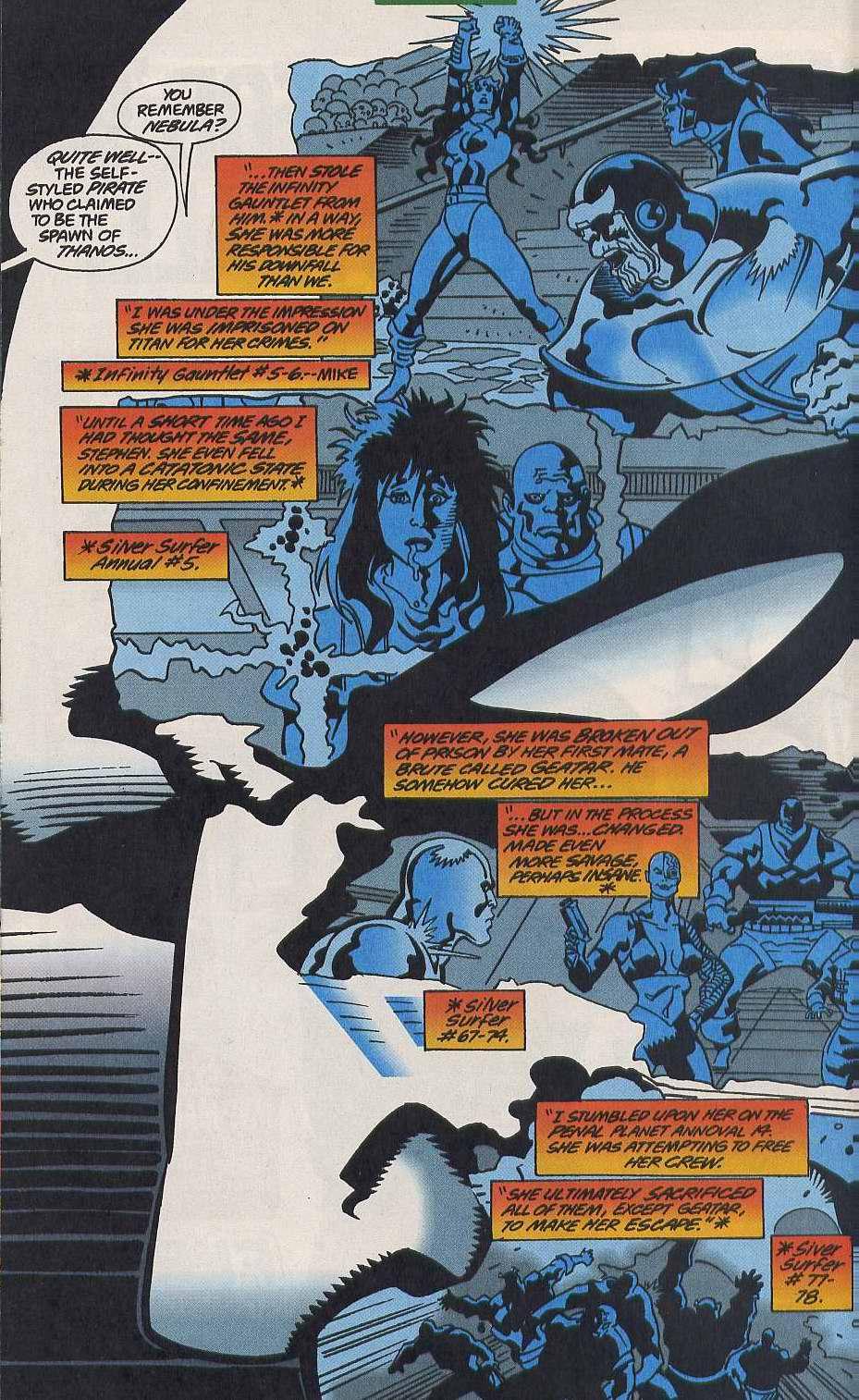 Read online Secret Defenders comic -  Issue #9 - 6