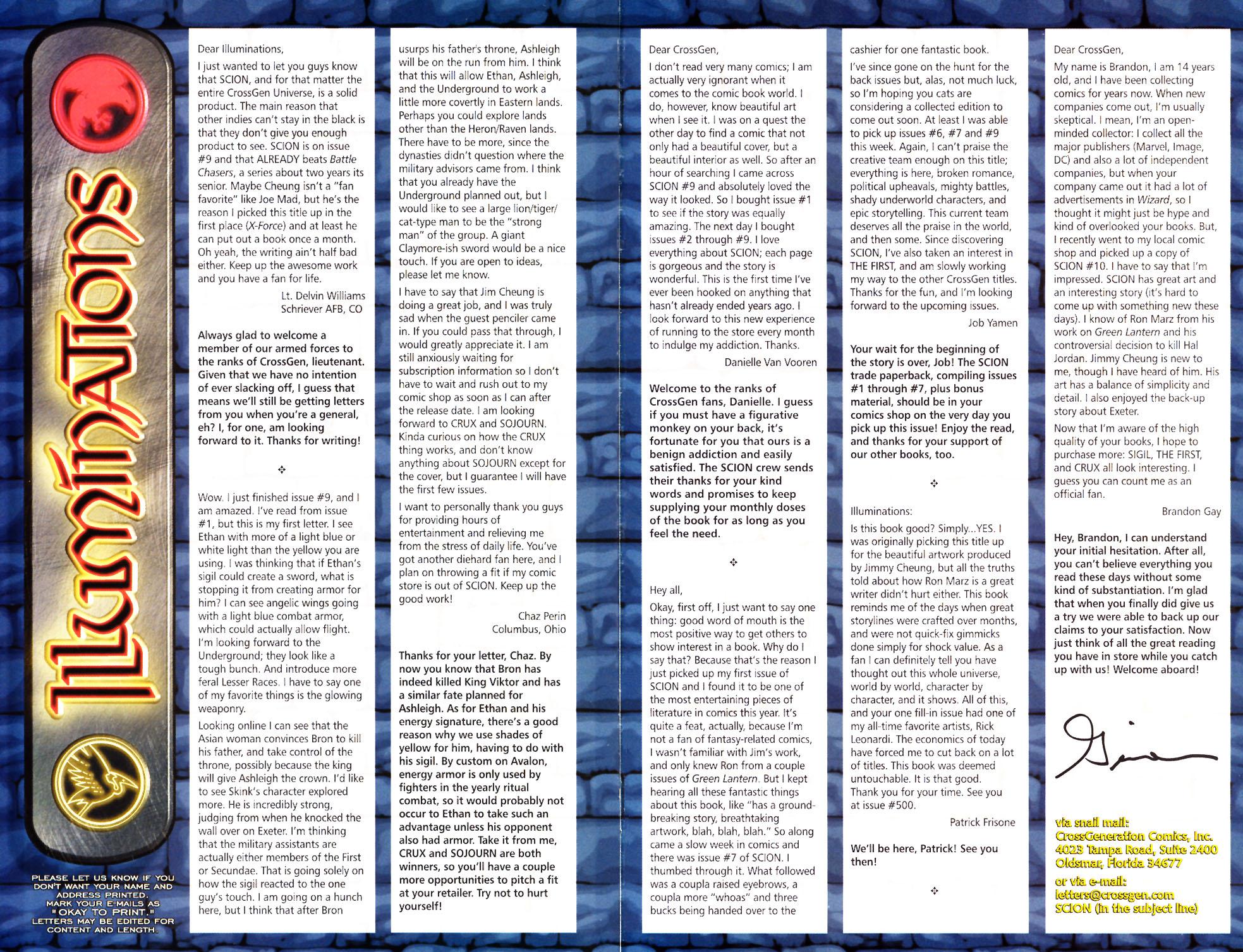 Read online Scion comic -  Issue #12 - 28