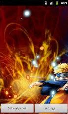 Live Wallpaper Naruto Sasuke Clash Duel