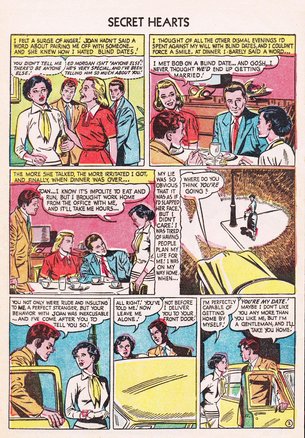 Read online Secret Hearts comic -  Issue #24 - 13